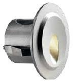 Brill 3W 3000K 240V IP65 Alumínio