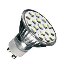 LED GU10 SMD 240V 2,5W 4500K
