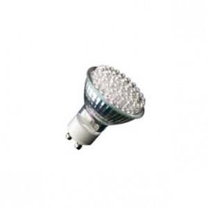 LED GU10 230V 54x0,05W 3500K