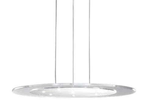 Aurora LED Pendant Lamp steel 8x3W 3300K