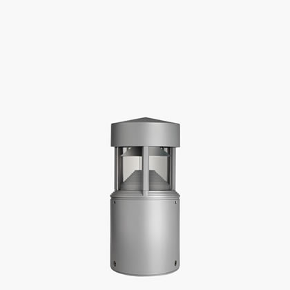 Column Beacon Hit ce/s 70w ø200mm H47cm Black