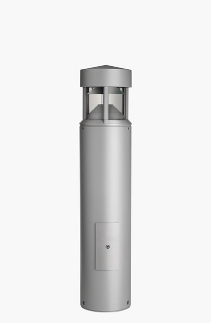 Column Beacon Tc t 26w ø200mm H95cm Black