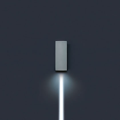 Lift Wall Lamp vertical Hit tc Ce 20w 1 beam estrecho 4ú Corten