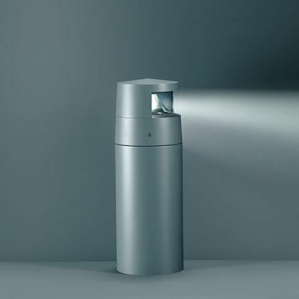 Minireef Paletto Hit tc Cri 20w 12 beams light Grey Aluminium