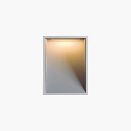 Blinker Wall Lamp 5 Accent LED 3200k 12,5w 230v Grey Aluminium