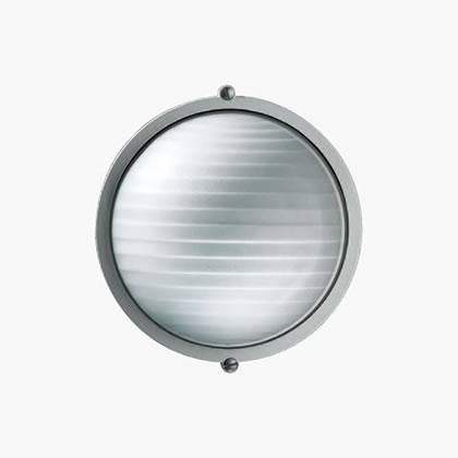 Plafoniere Wall Lamp with ring A60 60w white