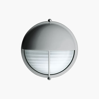 Plafoniere Wall Lamp with visera A60 60w white