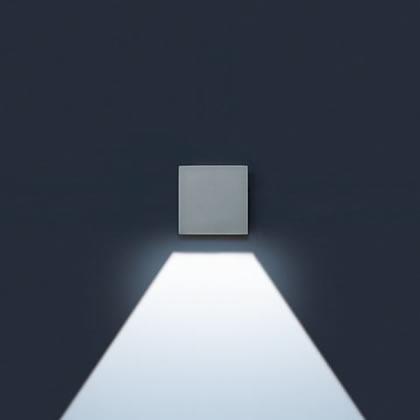 Lift Wall Lamp Square Hit tc Cri 35w 1 beam long 60ú Corten
