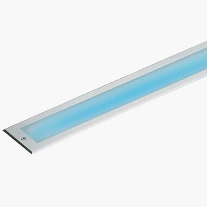 Linear LED Soft LED 6000k 12w 230v acero inoxidable