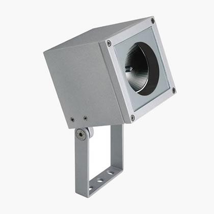Loft Spot proyector Tc-tel 18w gris Aluminio