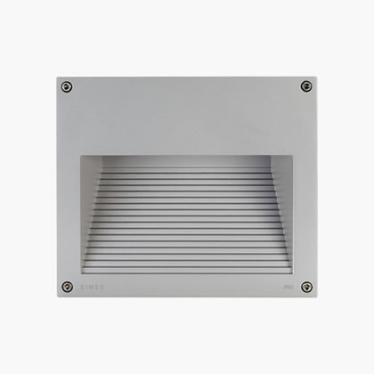 Megaeos Recessed wall Square HIT-DE 70w Black