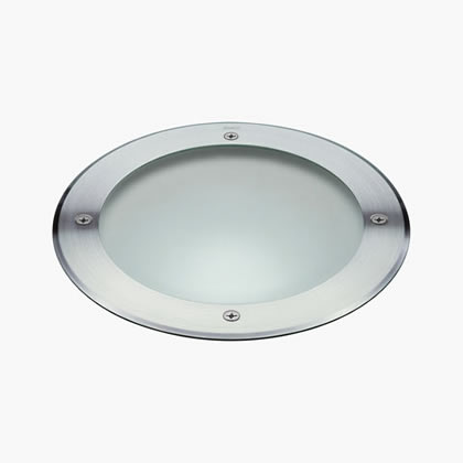 Megazip Recessed suelo Round HIT-CRI 70w Stainless Steel