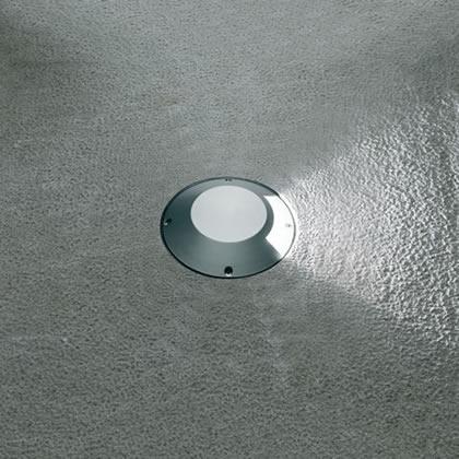 Microsparks 1 Accent LED 6000k 1w 230v 1 haz luz gris Aluminio