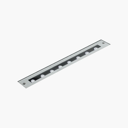 Minilinear Tutto Vetro Piano 8 Accent LED 6000k 8w 230v