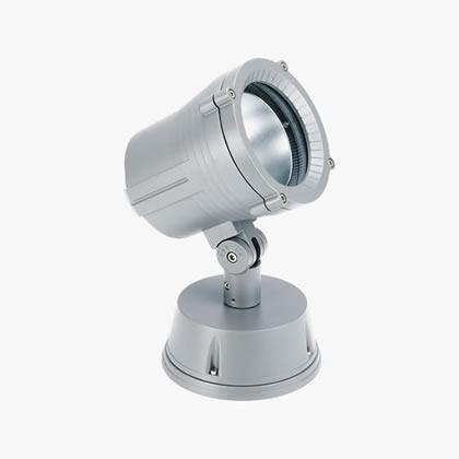 Minitechno Spot Hit tc Cri 35w Pequeño 22º gris Aluminio