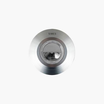 Nanoled Empotrable suelo Redondo 45mm 1 Accent LED 6000k 1,25w 32ú acero inoxidable