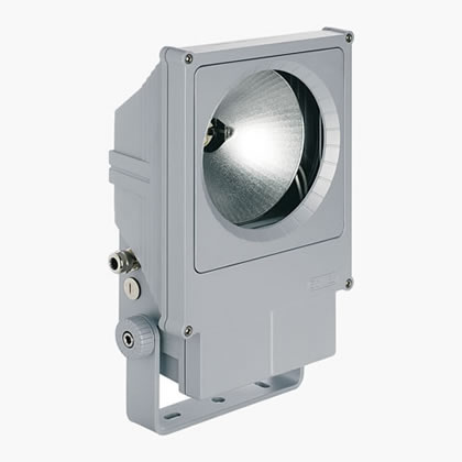 Techno projector rectangular Spot HIT-CRI 150w 6ú Grey Aluminium