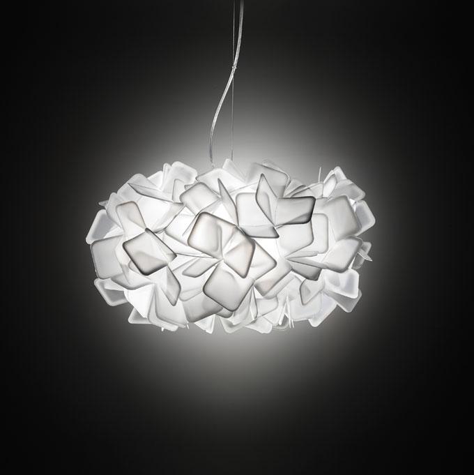 Clizia Pendant Lamp E27 2x20w white