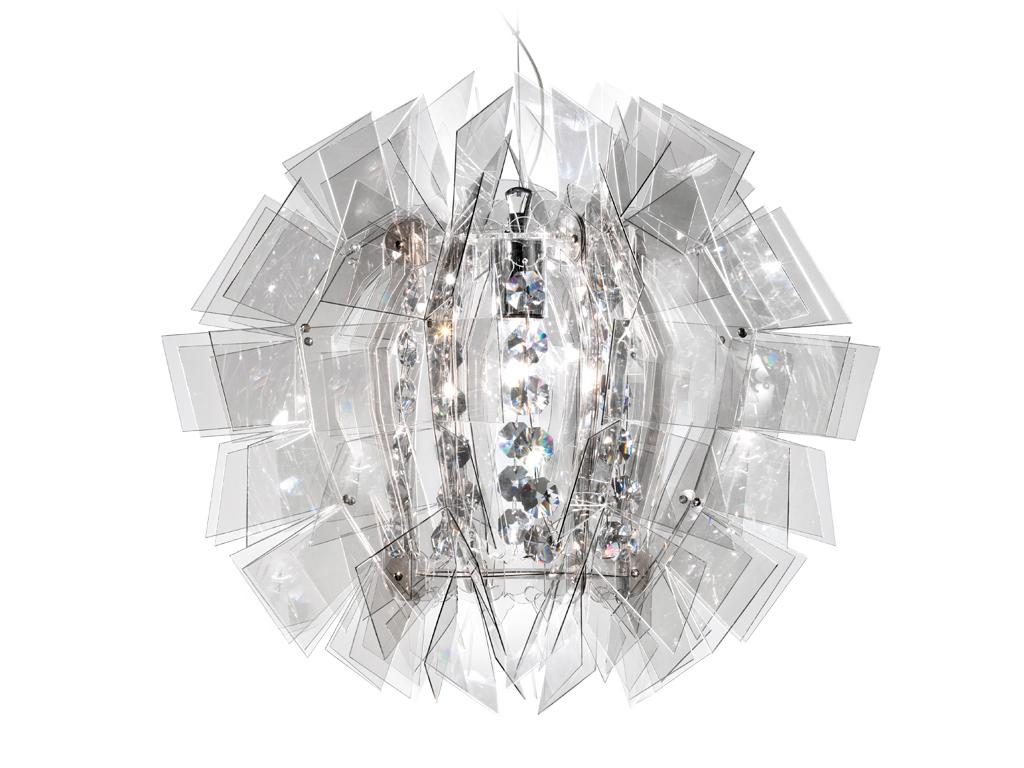 Crazy diamond suspensão 1xE27 100w Fumado