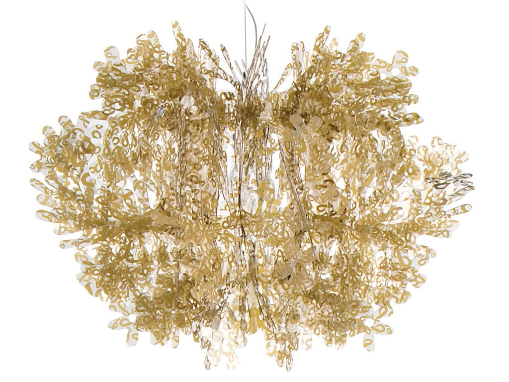 Fiorella suspensão 1xE27 100w Ouro