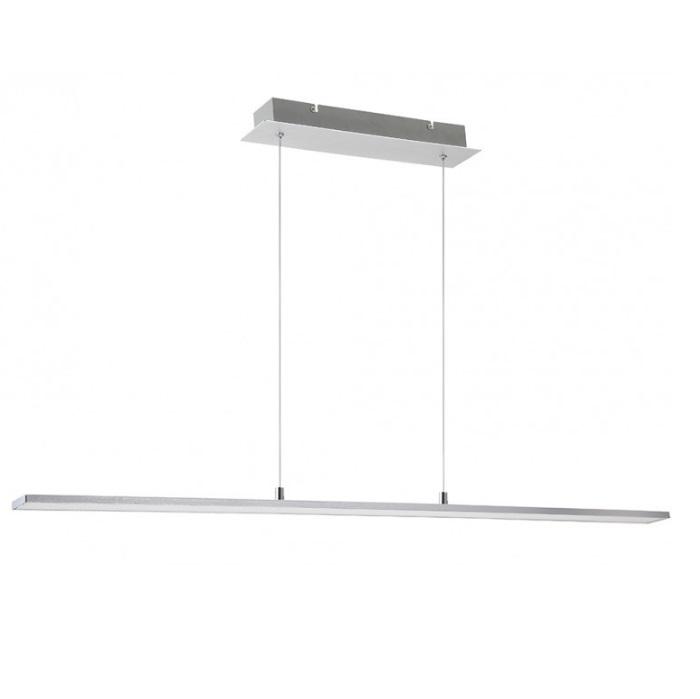 Alboran Lámpara Colgante 24W LED - Aluminio cepillado