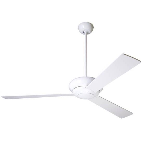 Altus Ventilador blanco brillo Aspas 91cm con luz control Pared