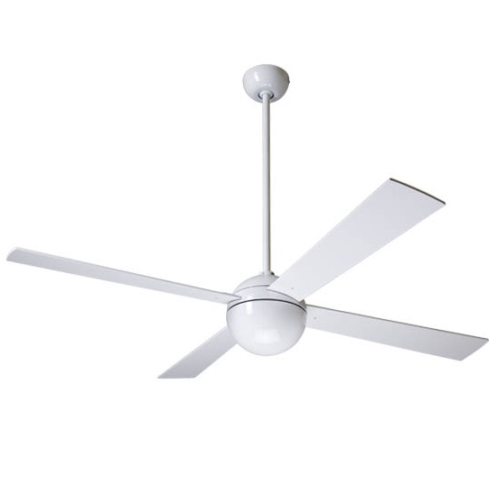 Ball Fan white bright Aspas 132cm without light wall control