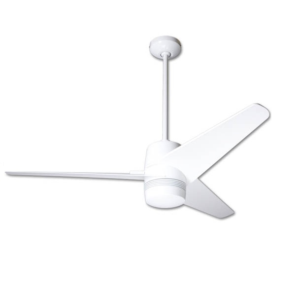 Velo Fan white bright Aspas 127cm with light wall control