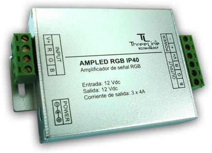 Amplificador of señal RGB IP40