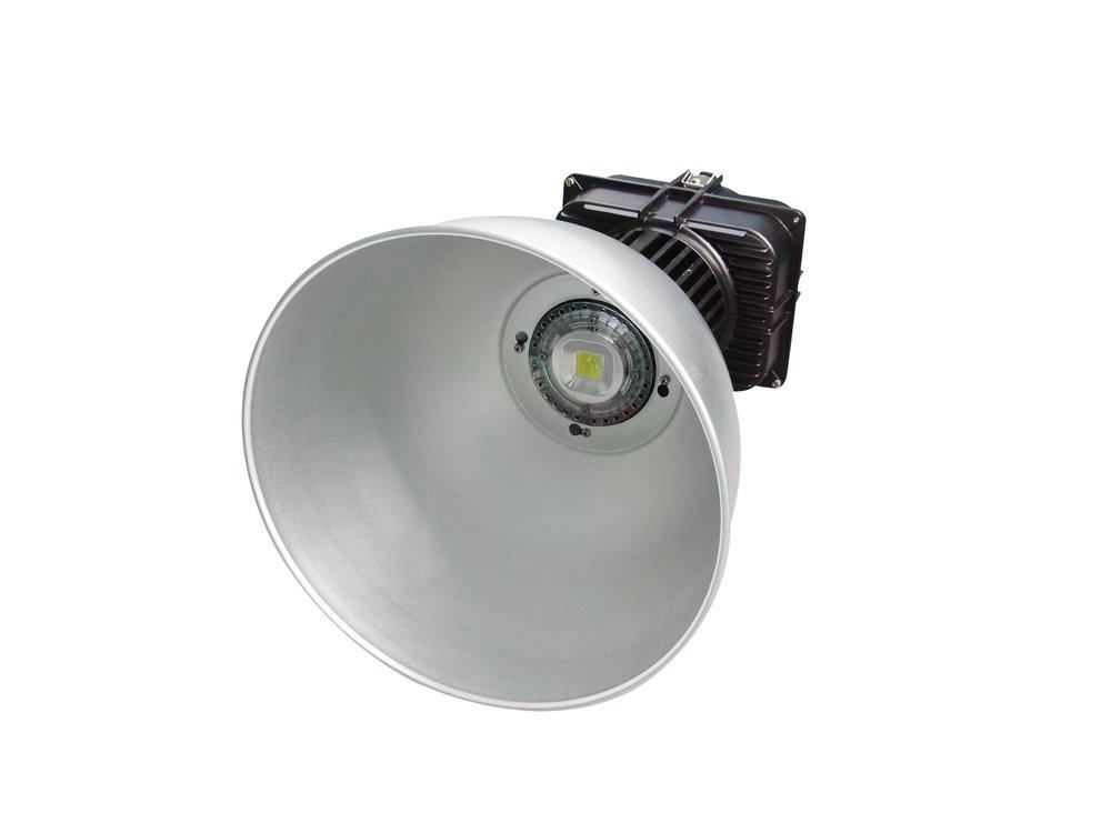 SERIE TG LED Campana industrial Alluminio, parábola 40º o 120º 1 1x138W