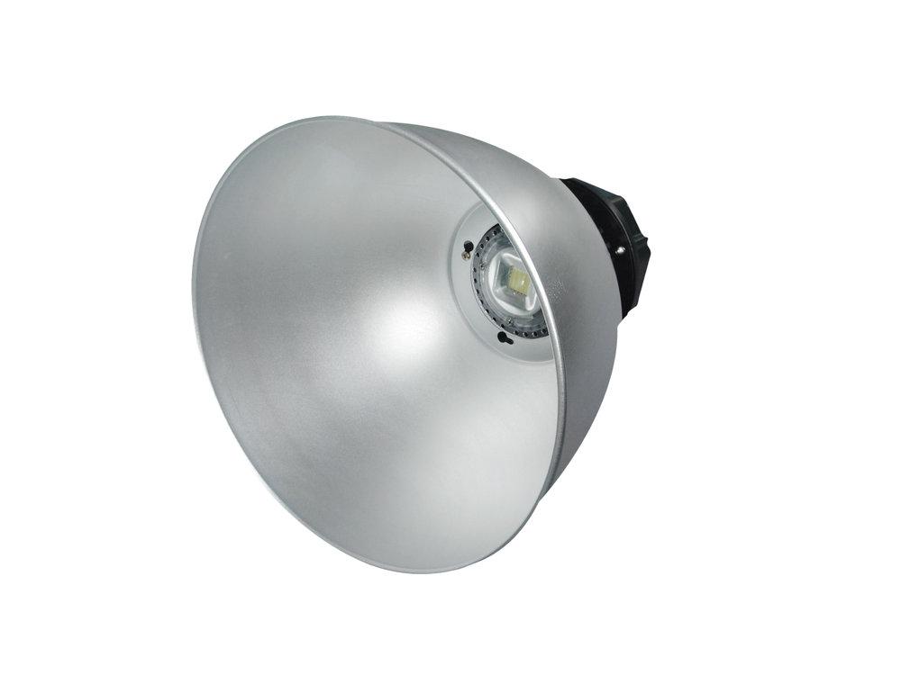 SERIE MG LED Campana industrial Alluminio, parábola 40º o 120º 2 PIN 1x57W