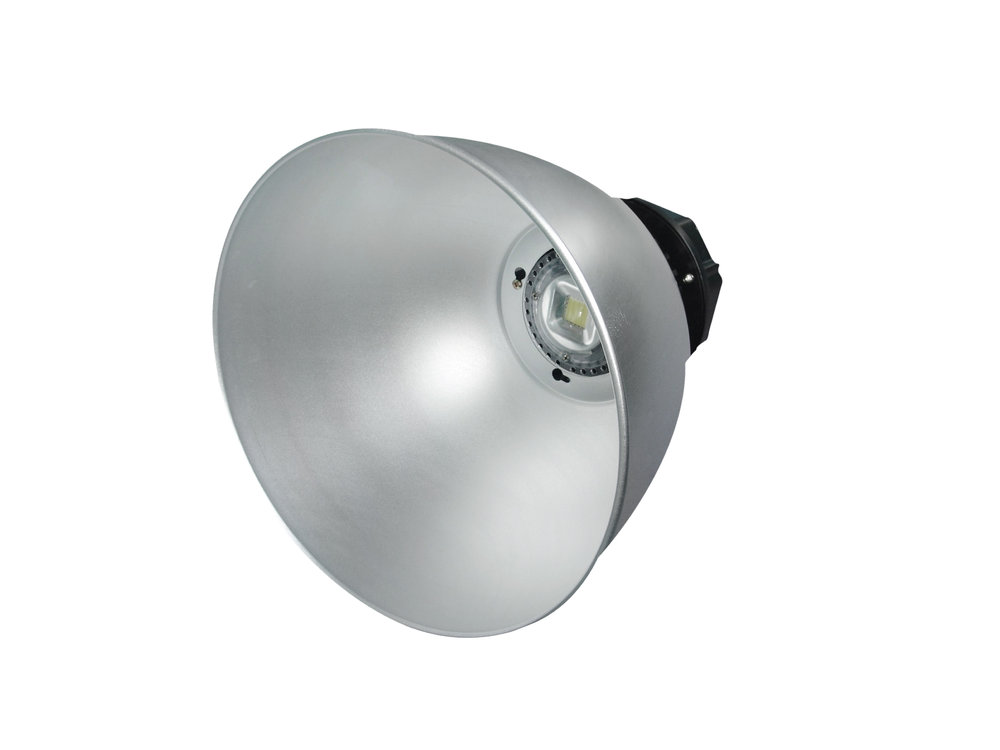 SERIE MG LED Campana industrial Alluminio, parábola 40º o 120º 2 PIN 1x91W