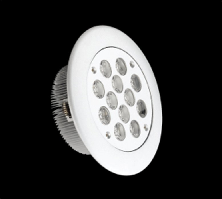 SERIE MG LED Downlight, body Aluminium, óptica Transparent 2 PIN 12x 12W