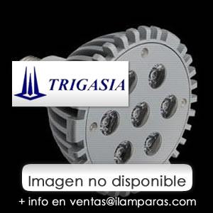 SERIE TG LED Lámpara tipo PL, Cuerpo Aluminio, óptica Transparente G24 6x6W