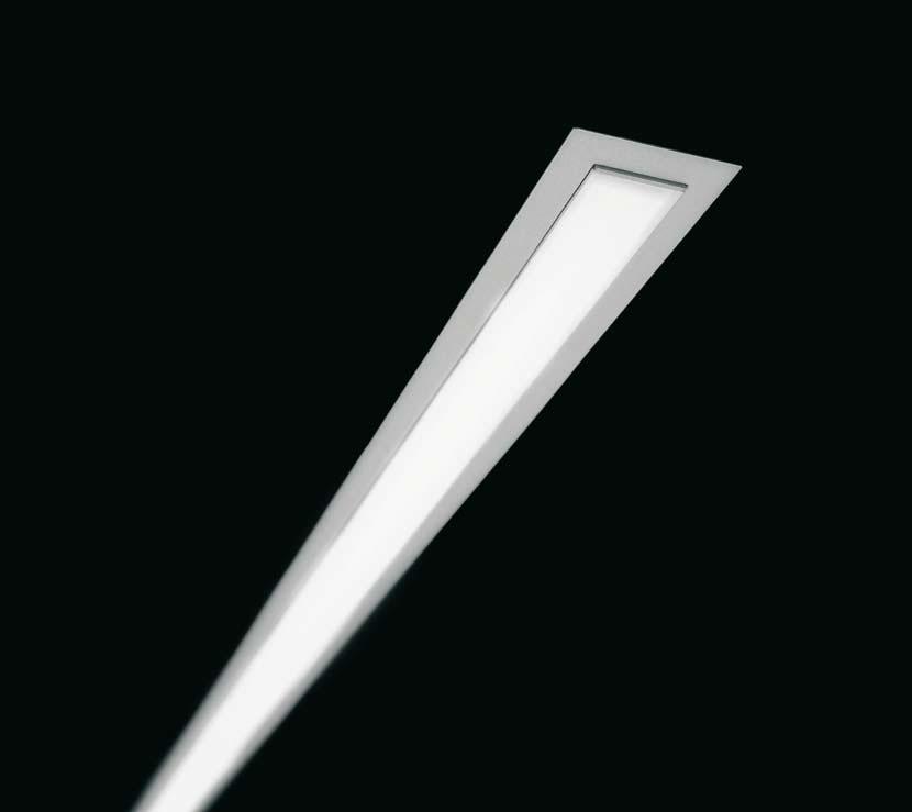 ESSENCE luminary adosada wall LED 42W opal Grey