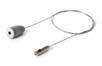 ESSENCE (Accessorio luminare) sospensione senza connettore elettrico con cavi di acciaio Grigio