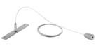 ESSENCE (Accessory luminary) suspension interMedium with cable of steel white