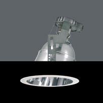 ELITE Foco empotrado G12 HIT 150W Cristal protector blanco