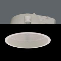 ZIP Downlight G24 q3 2x26W Equp Elect Refractor white