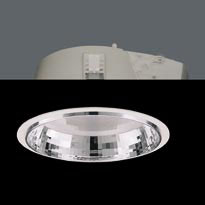 ZIP Downlight G24 q3 2x26W Equp Elect Refractor + Reflector white
