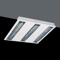 Luminaria Polivalente G5 T5 HE 3x14W Darklight Brillo