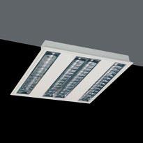 Luminaria Polivalente G5 T5 HE 4x14W Darklight Brillo
