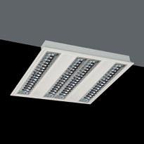 luminary Polivalente G5 T5 HE 4x14W Darklight brillo extrapuro