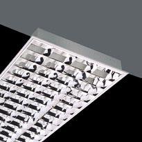 Luminaria Polivalente G13 T26 4x18W Blast magnético Darklight Brillo