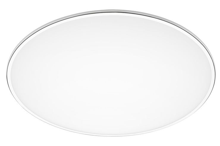 Big ceiling lamp ø120cm 4xLED 16,9W 400MA - White lacquered mate