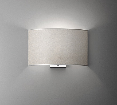 lampshade Warm Accessory lampshade for Wall Lamp Combi white Roto Mate
