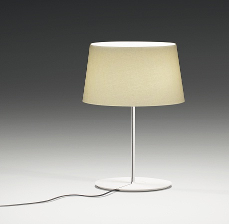 Warm Table Lamp lampshade nomal - Lacquered white Roto Mate