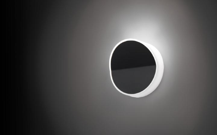Beta Wall Lamp Round white