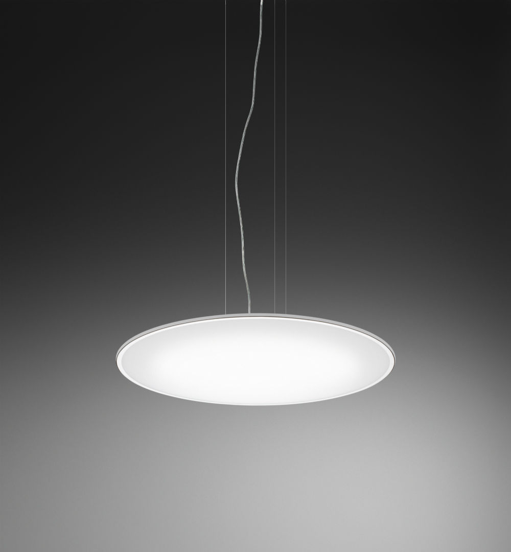 Big Pendant Lamp ø100cm 4xLED 16,9W 400MA - White lacquered mate