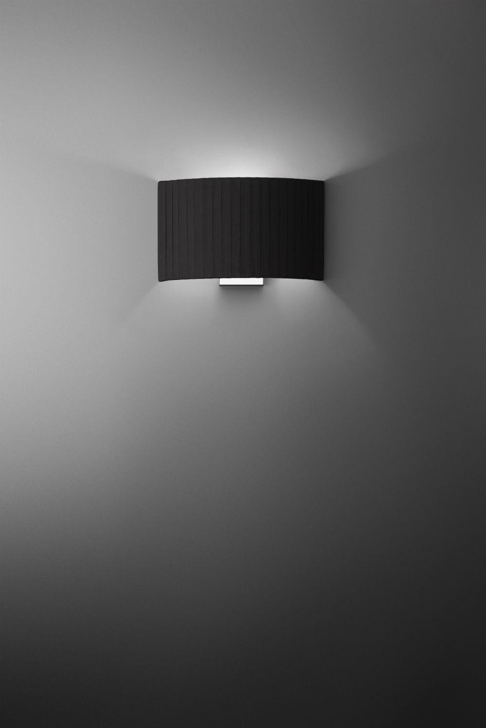 lampshade Plis Glamour Accessory of tape of algodón for Combi Black